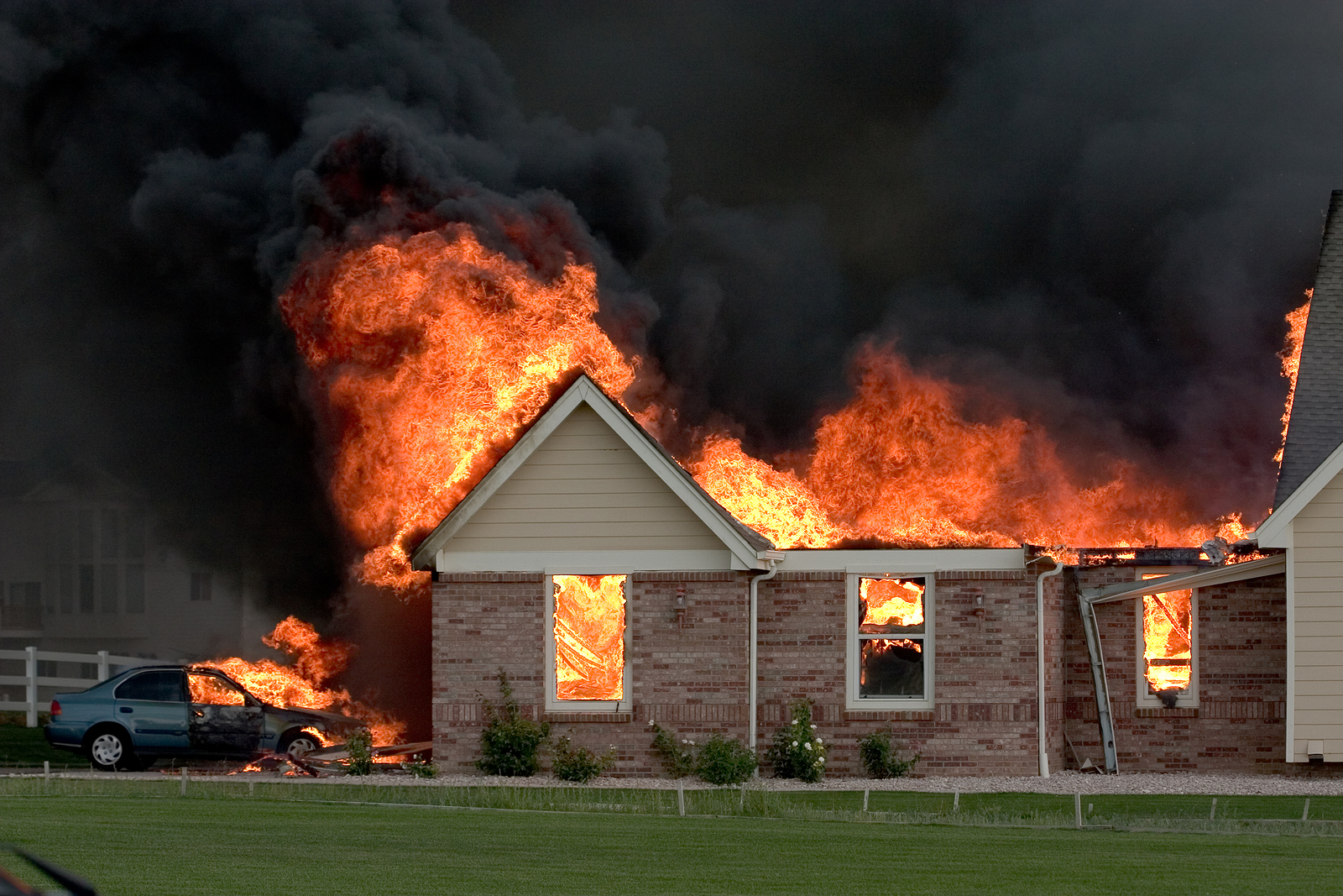 Your Home is on Fire—What to Do